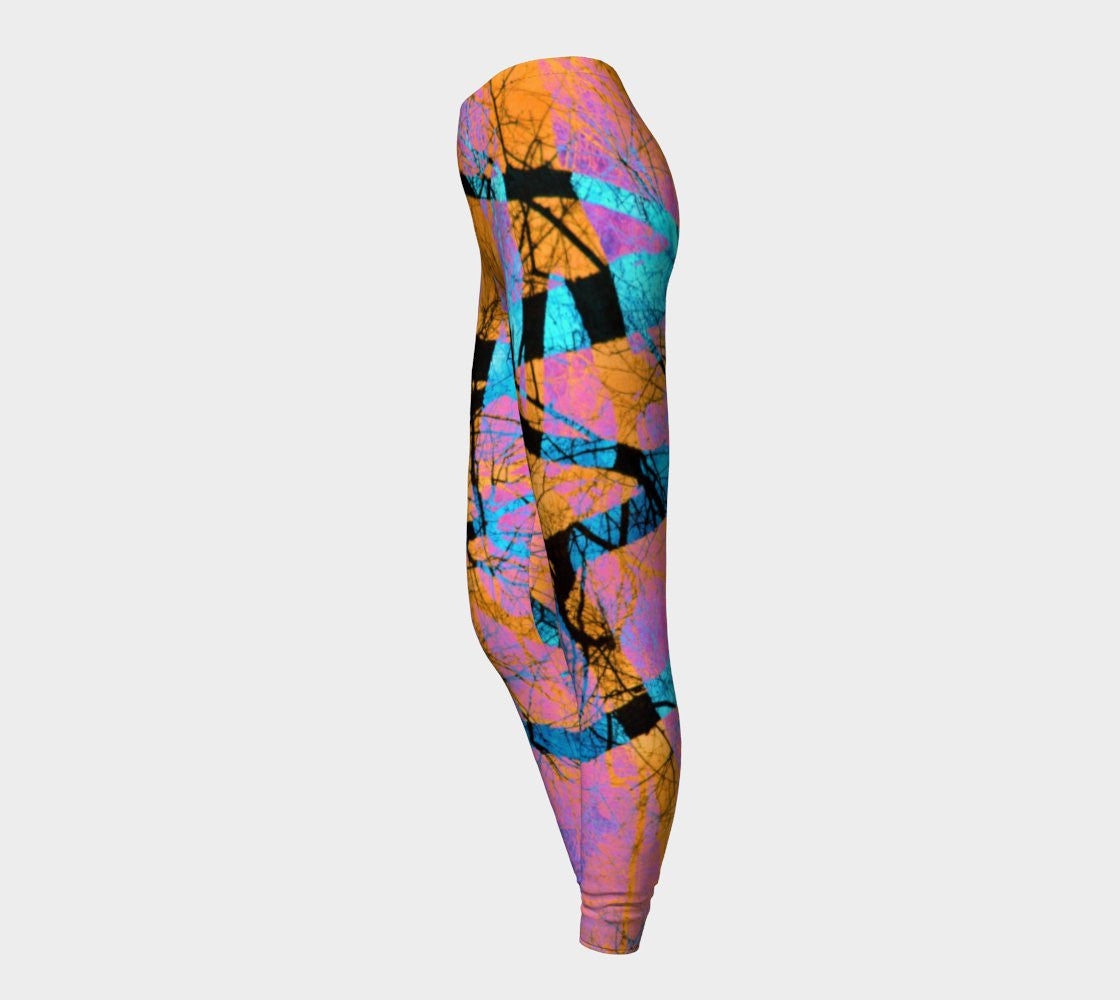 Twin Flame - Leggings-Leggings-Fate Designs-Fate Designs