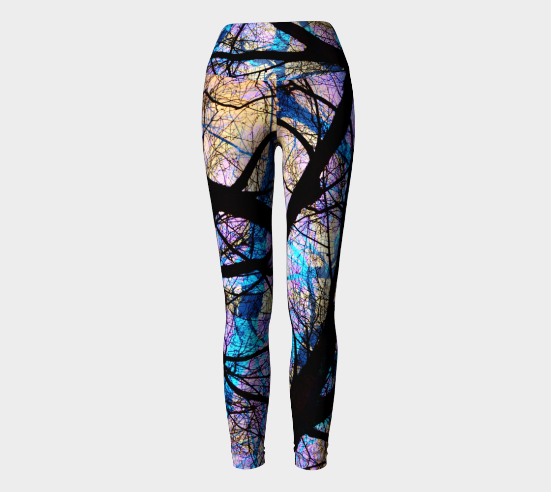 Death Ray - Yoga Leggings-Yoga Leggings-Fate Designs-Fate Designs
