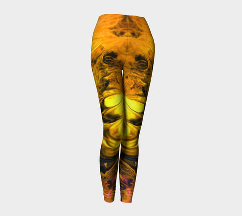 Desire's Fire - Leggings-Leggings-Fate Designs-Fate Designs