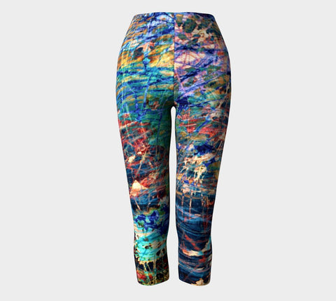 Face of Time - Capris-Capris-Fate Designs-Fate Designs