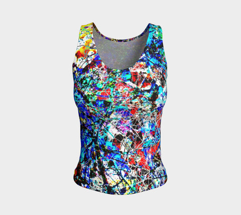 Flash Messengers - Tank Top &&-Fitted Tank Top (Regular)-Fate Designs-Fate Designs