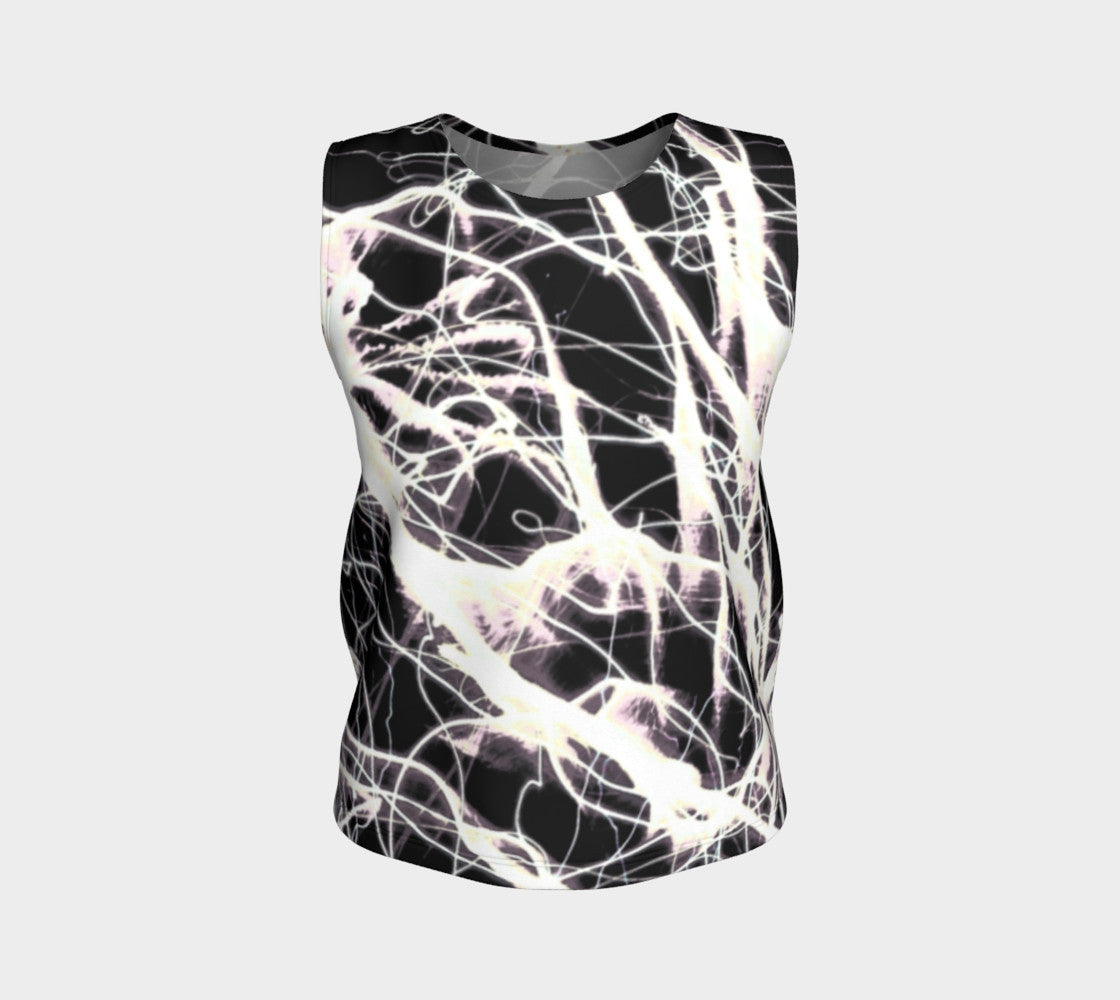 For the Freedom - Loose Fit Muscle Tank-Loose Tank Top (Regular)-Fate Designs-Fate Designs