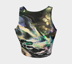 Ghost Lover - Crop Top-Athletic Crop Top-Fate Designs-Fate Designs
