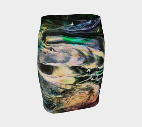 Ghost Lover - Hug Skirt-Fitted Skirt-Fate Designs-Fate Designs