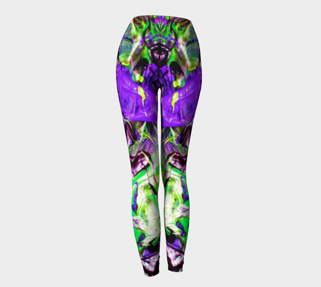 Hot Fugue - Trans Human - Leggings-Leggings-Fate Designs-Fate Designs