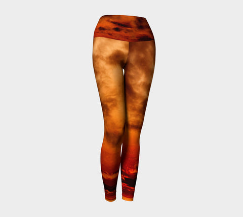 Illusion of Contradiction - Yoga Leggings &&-Yoga Leggings-Fate Designs-Fate Designs