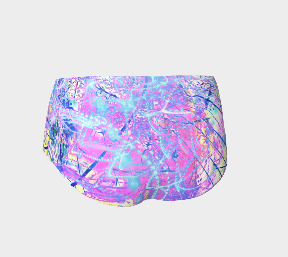 Kinetic Zen - Mini Shorts &&-Mini Shorts-Fate Designs-Fate Designs
