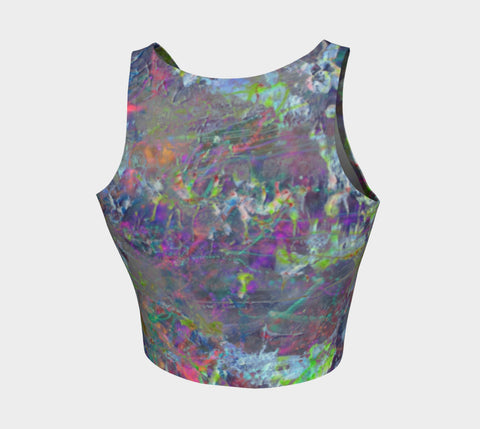 Mystik - Crop Top &&&-Athletic Crop Top-Fate Designs-Fate Designs