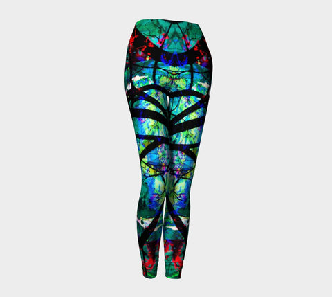 Neurological Discourse - More Connections Than Dots - Leggings-Leggings-Fate Designs-Fate Designs