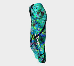 Neurological Discourse - Yoga Capris-Yoga Capris-Fate Designs-Fate Designs