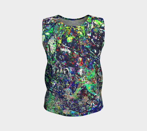 Noise Masters You - Loose Fit Muscle Tank &&&-Loose Tank Top (Regular)-Fate Designs-Fate Designs