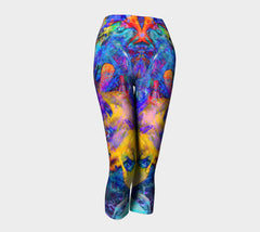 Painted Party Animal - Capris &&-Capris-Fate Designs-Fate Designs