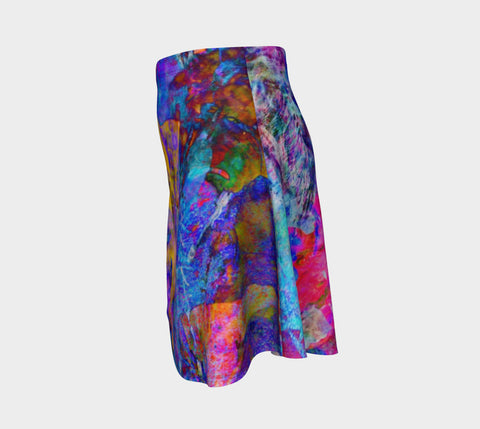 Painted Party Animal - Flare Skirt &&-Flare Skirt-Fate Designs-Fate Designs