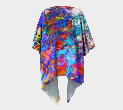 Painted Party Animal - Kimono &&-Draped Kimono-Fate Designs-Fate Designs