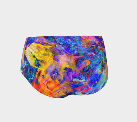 Painted Party Animal - Mini Shorts &&-Mini Shorts-Fate Designs-Fate Designs