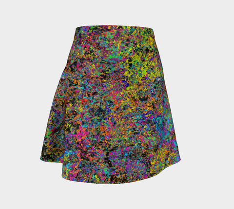 Particle Flash Dance - Flare Skirt-Flare Skirt-Fate Designs-Fate Designs