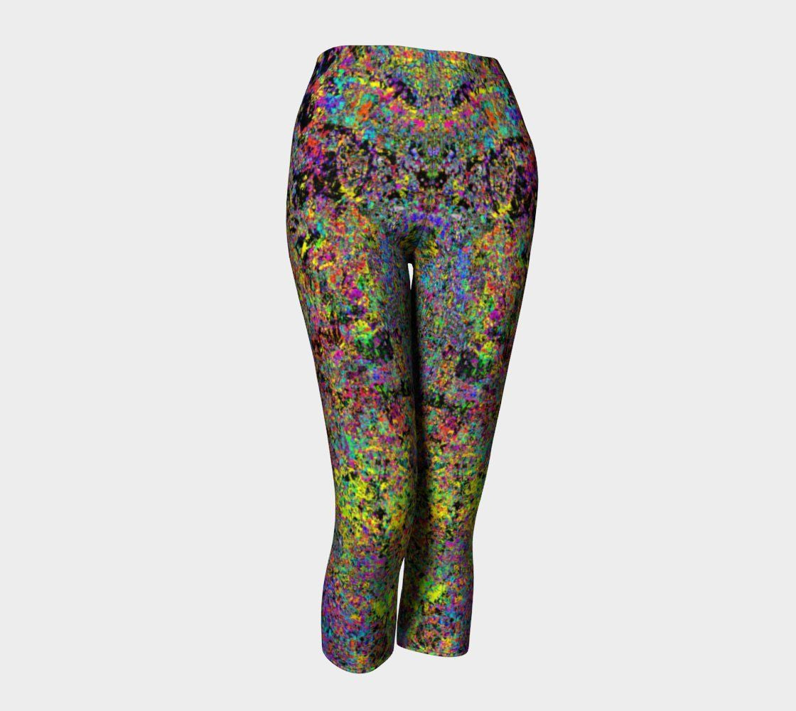 Particle Flashdance - Capris-Capris-Fate Designs-Fate Designs