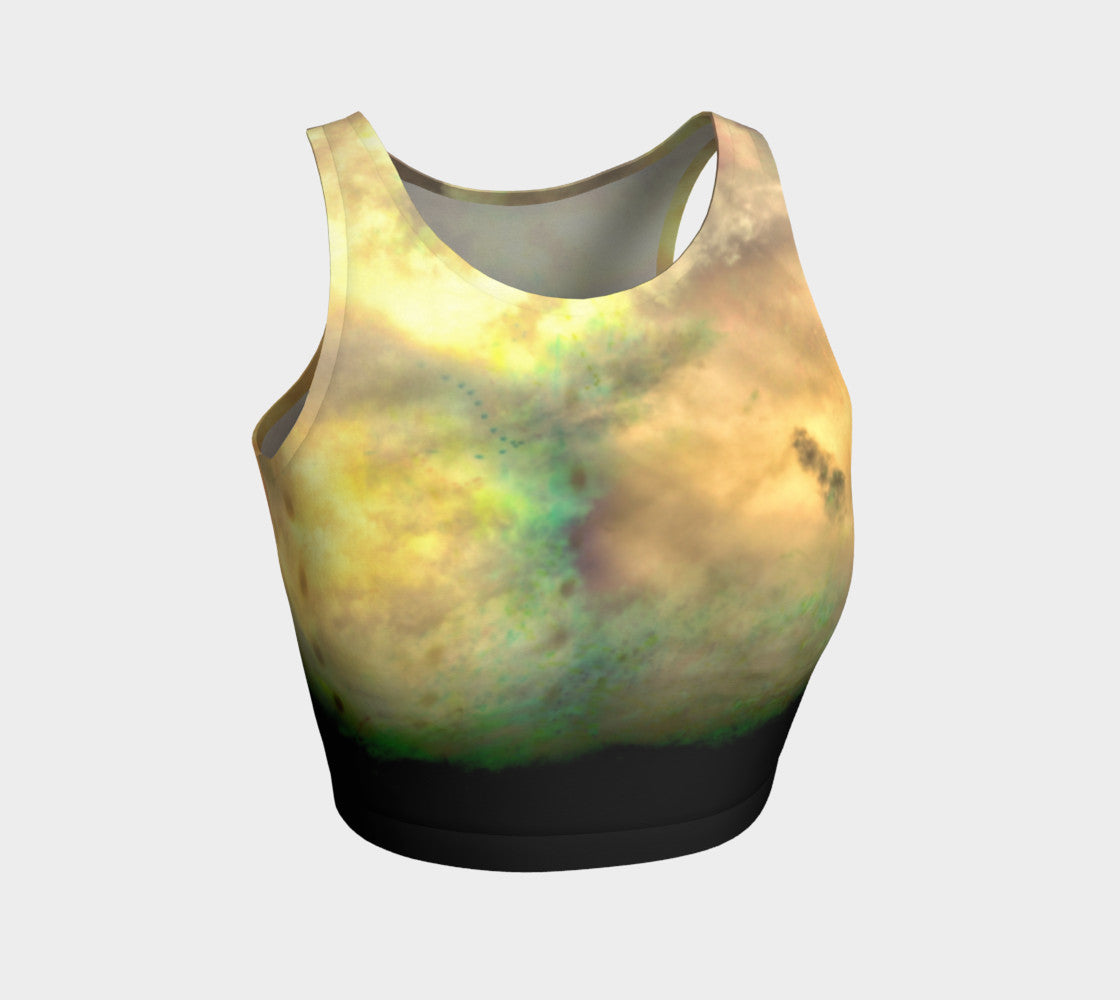 3cac4fdf94dd4 You re Real - Yoga Crop Top Made in Canada by Fate Designs