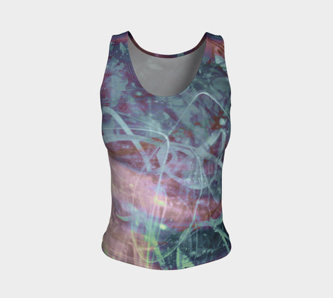 Colour of Friendship-Fitted Tank Top (Regular)-Fate Designs-Fate Designs