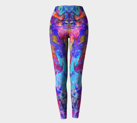 Painted Party Animal - Yoni - Leggings &&-Leggings-Fate Designs-Fate Designs