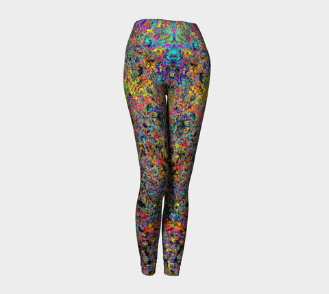 Particle Flash Dance - Yoni II -Leggings-Leggings-Fate Designs-Fate Designs
