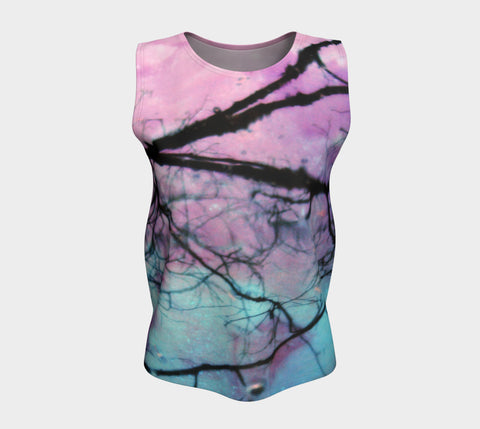 Delicious Morning-Loose Tank Top (Long)-Fate Designs-Fate Designs