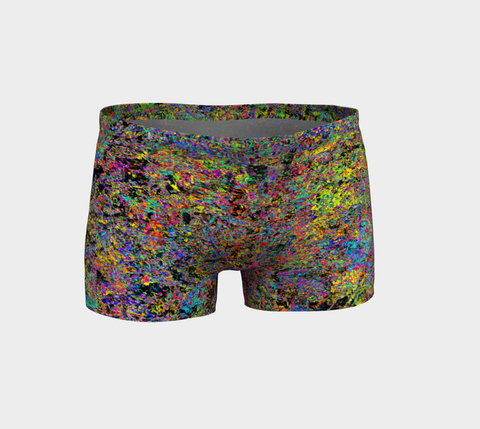 Particle Flash Dance - Shorts-Shorts-Fate Designs-Fate Designs