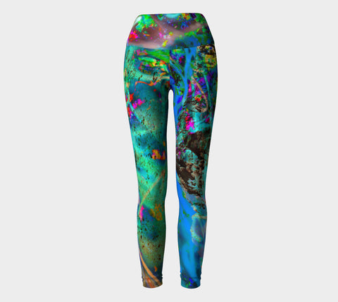 Peaking - Yoga Leggings-Yoga Leggings-Fate Designs-Fate Designs