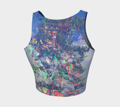 Protected - Crop Top &&-Athletic Crop Top-Fate Designs-Fate Designs