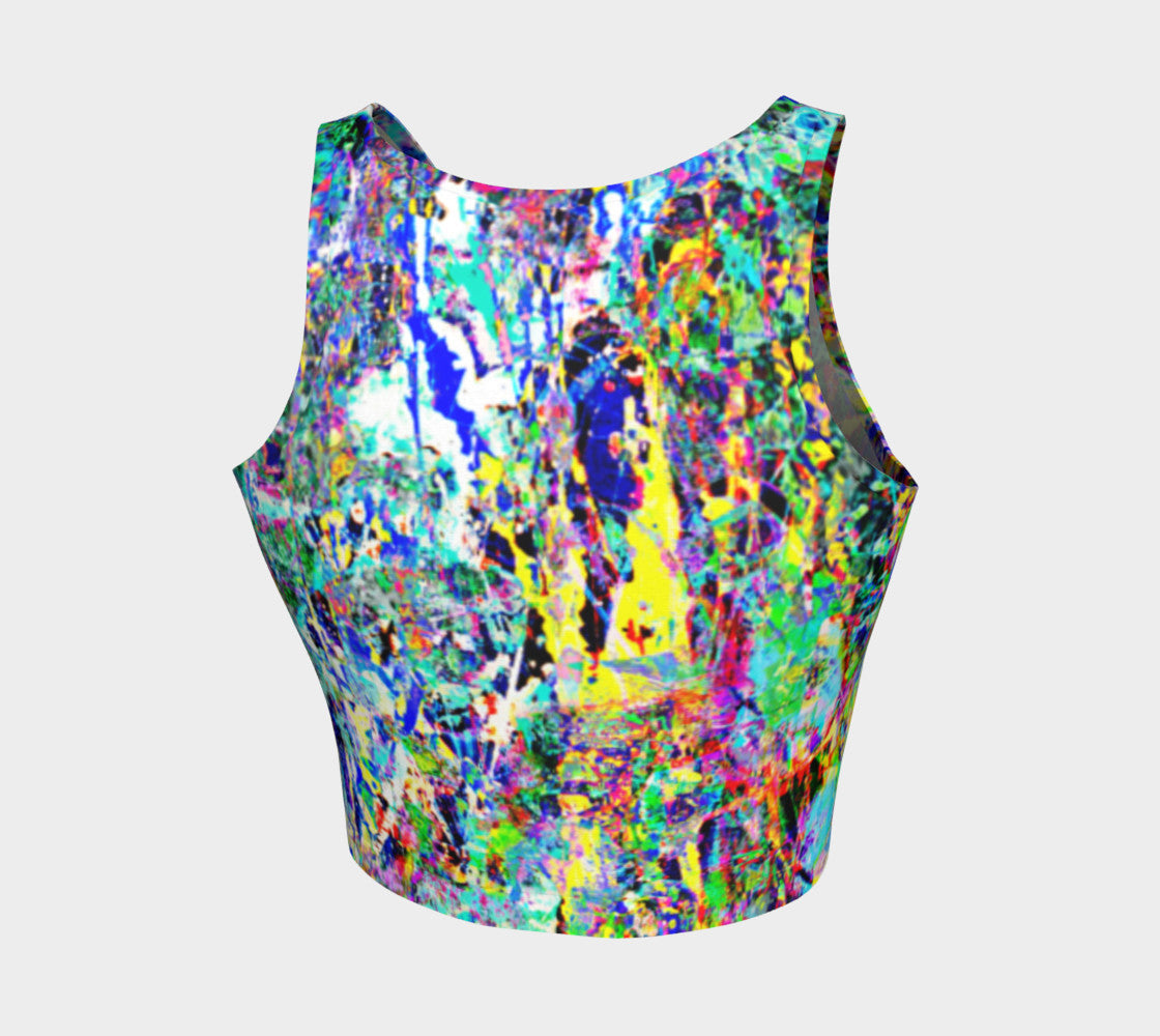 fe487ff108820 Revenge of the Ions - Yoga Crop Top Made in Canada by Fate Designs ...