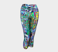 Revenge of the Ions - Yoga Capris-Yoga Capris-Fate Designs-Fate Designs