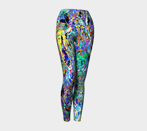 Revenge of the Ions - Yoga Leggings-Yoga Leggings-Fate Designs-Fate Designs