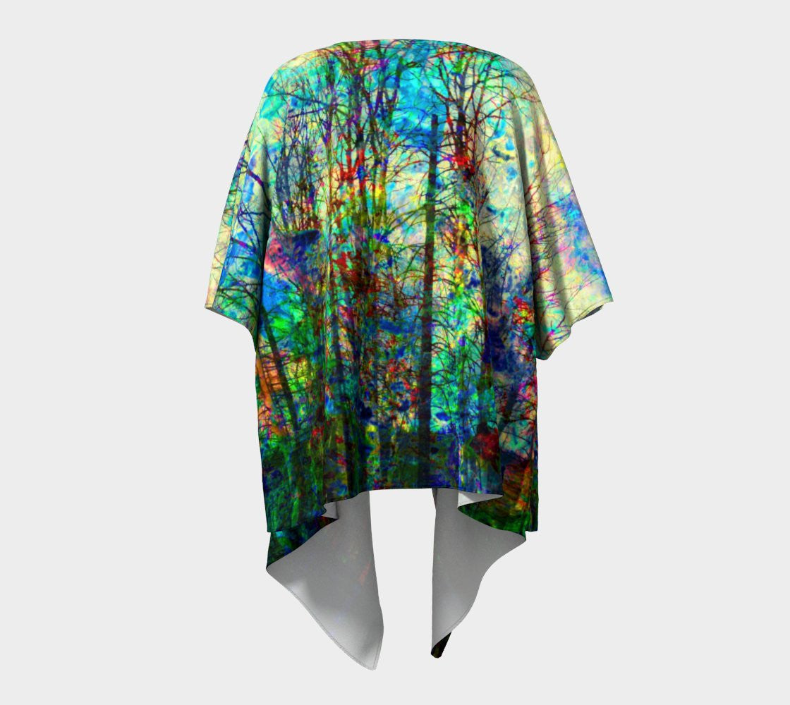 See the Forest for the Fire - Kimono-Draped Kimono-Fate Designs-Fate Designs