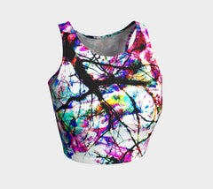 Sputnik - Crop Top &&-Athletic Crop Top-Fate Designs-Fate Designs