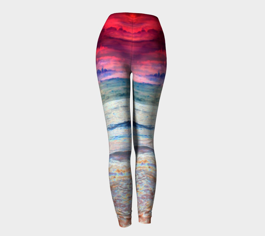 Sunrise Surprise - Leggings-Leggings-Fate Designs-Fate Designs