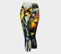 Thoughts That Follow - Yoga Capris-Yoga Capris-Fate Designs-Fate Designs