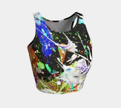 Wild Bait - Crop Top-Athletic Crop Top-Fate Designs-Fate Designs