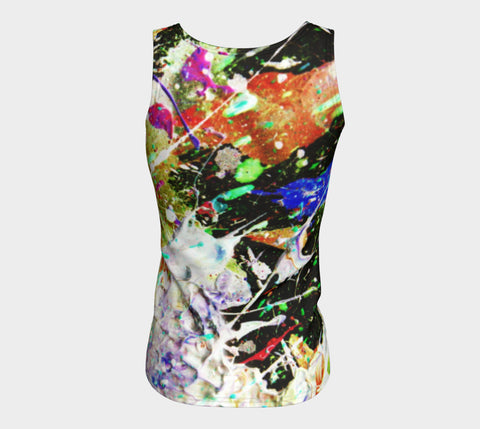 Wild Bait - Long Tank Top-Fitted Tank Top (Long)-Fate Designs-Fate Designs