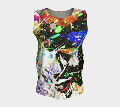 Wild Bait - Loose Tank Top Long-Loose Tank Top (Long)-Fate Designs-Fate Designs