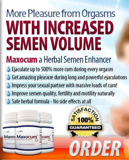 Male ejaculation volumizer