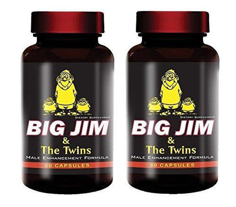 Big Jim  Get Bigger Male Enhancement Pills Penis Enlargement 2 Pack