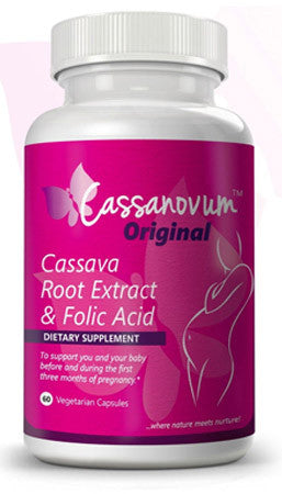 Cassava Fertility Supplement - Twins - Vitamins - Cassanovum ORIGINAL