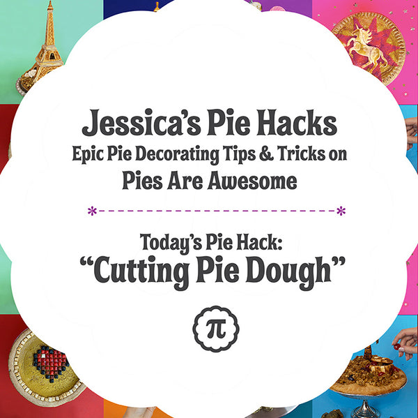 Jessica's Pie Hacks: How to Cut Pie Dough
