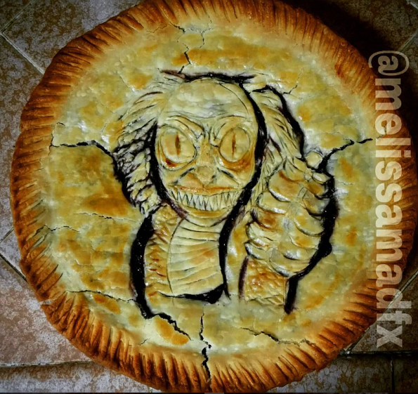 Beetlejuice Staircase Monster Pie by melissamadfx