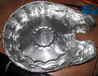 Custom pie pan