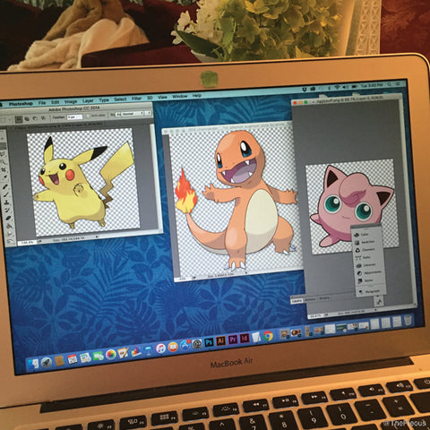 Reference images for Pokemon tarts