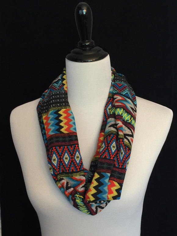 MultiColor Ethnic Chevron