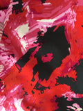 Red, Pink & Black Brushstrokes