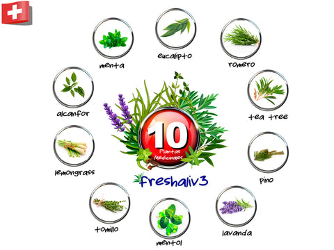 10 ingredientes de Fresh Aliv3