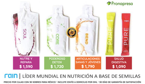 Productos Rain International 2019